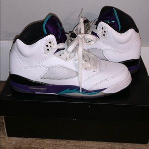 Air Jordan grape 5 retro